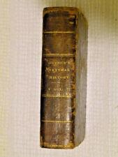Vintage Book 1831 Buffon's Natural History Vol. II Edited by John Wright M6E5