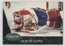 1992-93 Parkhurst Don Beaupre #197