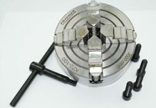 4 JAW INDEPENDENT ENGINEERING LATHE CHUCK 100 MM FROM CHRONOS