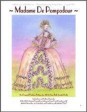"""Madame De Pompadour"" -  24"" (60 cm) BJD Ball Jointed Doll Clothing Pattern"