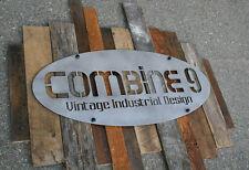 Custom Signs. Urban/Modern/Industrial. Vintage Reclaimed Wood. Commercial. Steel