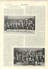 1894 German Carnival Bavaria Munich Fj Lawrence Brighton Football