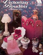 Crochet Victorian Boudoir  Annie's Fashion Doll Decor Original By Annie