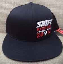 SHIFT RIDE ON WORLD TOUR 2014 CAP HAT SNAPBACK BLACK *NEW*