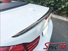 Performance Carbon Fiber Trunk Spoiler For 2014+ BMW F33 428i 435i Convertible