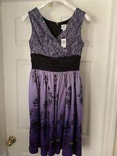 Disney Parks Haunted Mansion 50th Anniversary Dress Shop Wallpaper Dress Size S