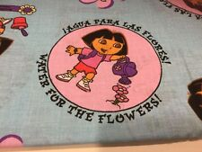 Dora The Explora Flower Fabric 2 Yards OOP