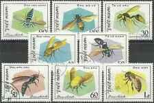 Timbres Insectes Viet Nam 315/22 o lot 20597