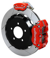 "WILWOOD DISC BRAKE KIT,REAR PARKING BRAKE,06-15 MAZDA MIATA MX5,13"",RED CALIPERS"