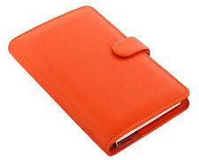Filofax Compact Size Personal Organiser Diary - Saffiano Bright Orange 022589