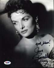 JANE RUSSELL Hand Signed PSA DNA COA 8x10 Photo Autographed Authentic 2