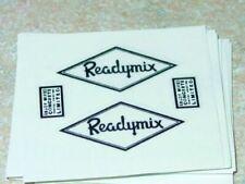 Matchbox Kingsize Readymix Truck Stickers      MB-K13A1