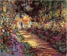 Usa - Diy Paint by Number Kit Acrylic Painting Home Decor - Pathway in Monet's