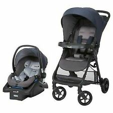 Safety 1st Smoothride Stroller Travel System - Ombre Blue