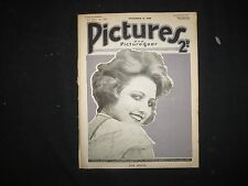 1919 NOVEMBER 8 PICTURES AND PICTUREGOER MAGAZINE - EVA NOVAK - ST 3425