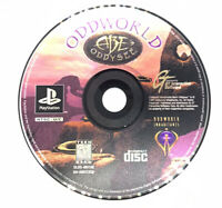 Oddworld Abe's Oddysee Ps1 Playstation one Disc Only TESTED Rare