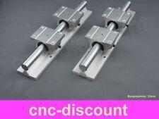 CNC Set 20x 1600mm 2x Linearführung 4x Linearwagen Linear Guide Rail 3D Fräse ro