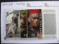 NEW ZEALAND motion pictures set Sc 1379-82 MNH