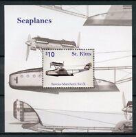 St Kitts Aviation Stamps 2016 MNH Seaplanes Savoia Marchetti Planes 1v S/S