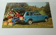 1977 Honda Civic Wagon Dealership Postcard