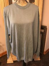 Men's Raffi Pullover Sweater-Size XL Blue Made in Italy New FREE shipping