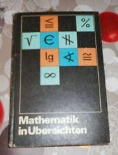 DDR +  Schulbuch Mathematik in Übersichten  + Wissensspeicher Klassen 8 bis 10