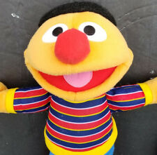"Sesame Street Muppets ERNIE 15"" Plush - Fisher Price 2009 Jim Henson Mattel"