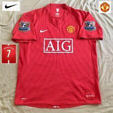 Original Manchester United Football Shirt RONALDO 2007 EXCELLENT Nike Jersey