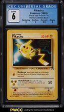 1999 Pokemon Movie Black Star Promo Pikachu #4 CGC 6 EXMT