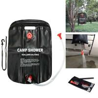 20L/ 5 Gal Solar Energy Heated Camp Shower Bag Outdoor Camping Hiking US Ship