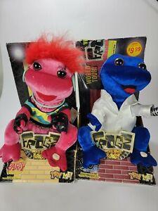 New in boxNew in box Gemmy Frogz 90's Rock It Rap livin la vida loca BUNDLE RARE