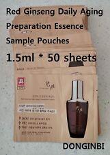 Cheong Kwan Jang DONGINBI Daily Aging Preparation Essence Sample 1.5ml*50 Sheets