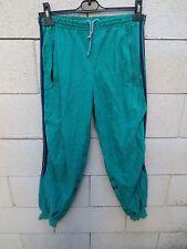 VINTAGE Pantalon ADIDAS CHALLENGER vert violet Ventex sport 168 S pant années 80