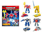 MISB in USA - Transformers Kabaya Block Wars Set of 4 Complete Trading Figures