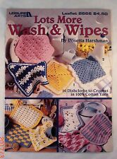 Lots More Wash & Wipe - Leisure Arts 2666 - 16 Crochet Patterns