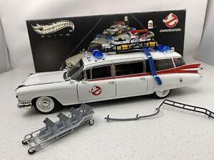 1/18 Mattel Elite Ghostbusters Ecto-1 Ambulance RARE Part # W1176