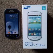 New condition Samsung Galaxy S3 Mini 8GB Unlocked White /Blue/ Black BOXED