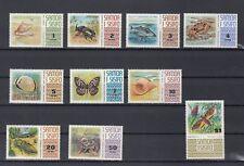 TIMBRE STAMP  10 ILES SAMOA  Y&T#305-14 FAUNE ANIMAL NEUF**/MNH-MINT 1972 ~B19