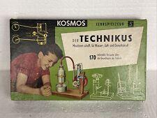 Kosmos Technikus schöner Zustand Retro Spiel Experimentierkasten Lernspielzeug