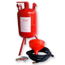 Portable Air Sandblaster sand blaster 5 Gallon Air Media Abrasive Blasting Tank