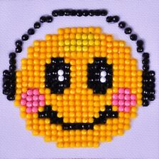 Rhinestone Painting Kit, SMILING GROOVE Happy Face Diamond Dotz kit0113
