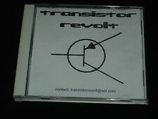 TRANSISTOR REVOLT / RISE AGAINST 4 song cdr demo chicago punk ultra rare oop 1