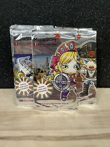 2007 Nexon MAPLESTORY Wizards of the Coast 9 Card Booster Pack TCG *NEW*