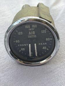 Smiths GD1301/06 Dual Air Pressure Gauge RARE