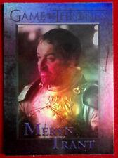 GAME OF THRONES - SER MERYN TRANT - Season 4 - FOIL PARALLEL Card #76