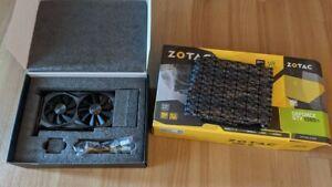 ZOTAC Nvidia Geforce GTX 1080 Ti Mini, 11GB GDDR5X, 352bit Grafikkarte...