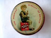"Fantastic Vintage Advertising Tin for ""The Premier Biscuit Of Britain"" *"