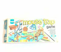 Vintage Mouse Trap Board Game by Ideal 1975 In Box Missing One Mouse & Spring