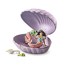 Mermaid with baby turtle in shell  Bayala the World of Elves Schleich 70562 <><