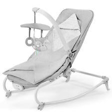 Kinderkraft Sdraietta Felio 2020 dondolo neonati Seggiolone vibrazioni Grigio